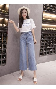 KPT08066203H Denim culotte REAL PHOTO