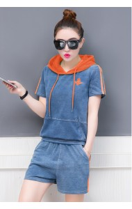 KST0811274X Hoodie jeans pants set REAL PHOTO