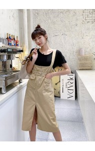 KDS08196537M Split jumpsuit dress REAL PHOTO