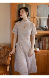 KDS100916088 Full lace cheongsum dress REAL PHOTO