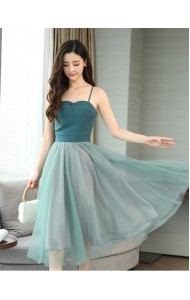 KDS10100205R Strappy tulle dress REAL PHOTO