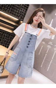 KJP10133566X Ripped denim jumpsuit REAL PHOTO