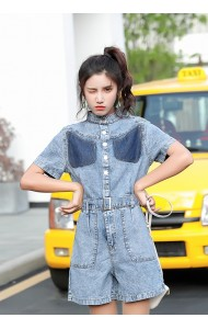 KJP10140119F Denim jumpsuit REAL PHOTO