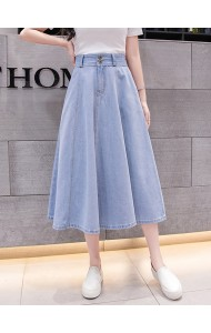 KSK1014351H Umbrella denim skirt REAL PHOTO