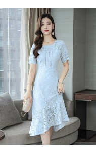 KDS10265115Y Lace mermaid dress REAL PHOTO