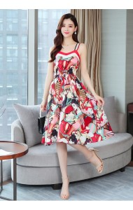 KDS10292708H Florrie strappy flared dress REAL PHOTO
