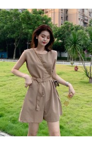 KJP10309504S Belted jumpsuit REAL PHOTO