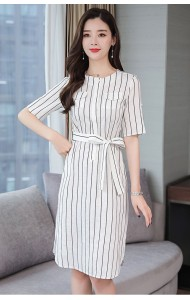 KDS11101518Z Stripes dress REAL PHOTO