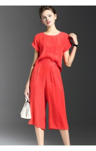 BDS11121261Y Chiffon jumpsuit REAL PHOTO