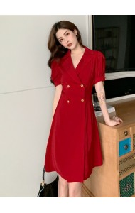 KDS11183976P Trench coat dress REAL PHOTO