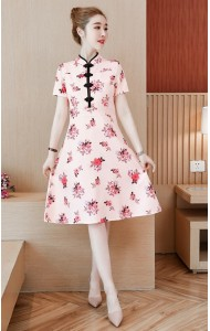 KDS11285388Y Floral cheongsum REAL PHOTO