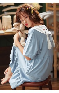 KWS0430515316Y Blue cotton sleepwear
