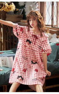 KWS043045316Y Red checker cotton sleepwear