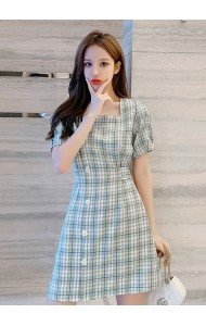 KDS052206S Checker short dress