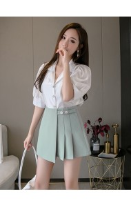 KPT057115K Pleated skorts