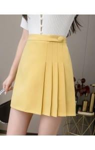 KPT057315K Pleated high waist skorts