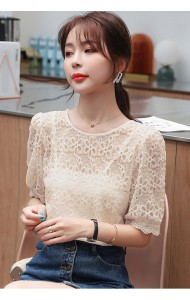 KTP05168L Embroidery 2 pc blouse