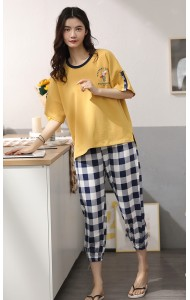 KSW05612S Checker pants set