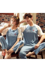 KSW0521922S Couple sleepwear pants set
