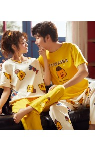 KSW0511922S Duckling Couple sleepwear pants set
