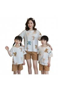 KWS06519S Family sleepwear-Bear