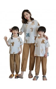KWS06229S Family sleepwear long-Animal