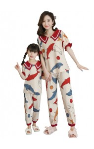 KWS06629S Family sleepwear long-Dolphin