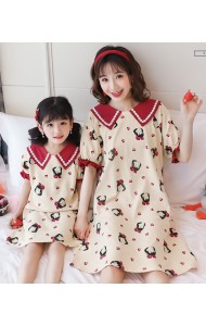 KWS06701S Family sleepwear dress-Girl