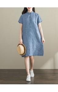 KDS063191M Cotton oversized shirt dress