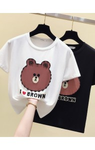 KTP062288L Line friends sequin t shirt