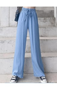 KPT073026H Soft jeans wide leg pants