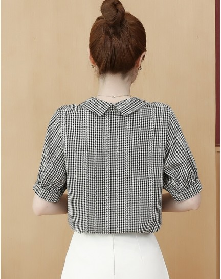 KTP073106Y Checker shirt