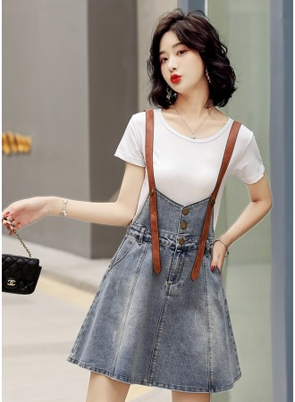 KDS08066M Jumpsuit denim dress