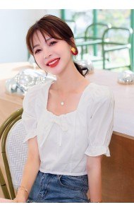 KTP080526T Cotton mini blouse