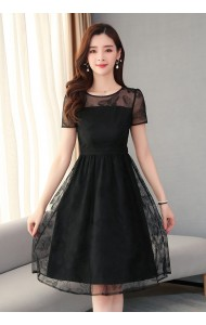 KDS129309H Butterfly lace dress
