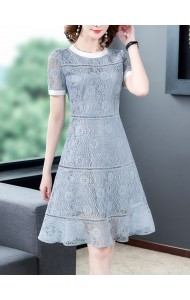 KDS121708M Blue lace dress