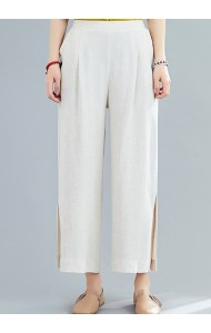 KPT126229X Linen split pants
