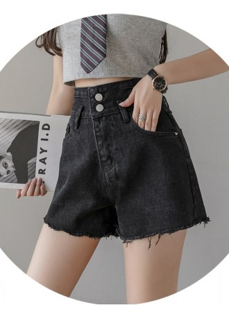 KPT0117817J High waist denim shorts
