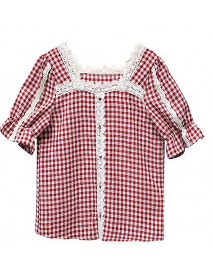 KTP033356X Red checker top