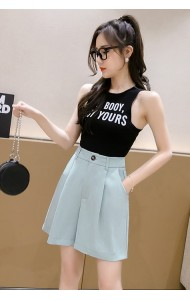 KDS037815K High waist short pants
